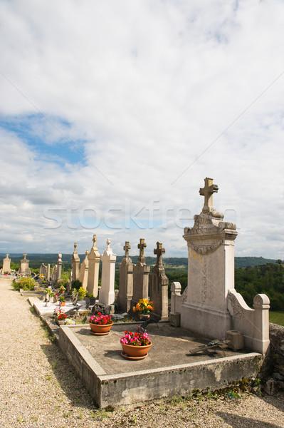 Cemetery in France Stock photo © ivonnewierink