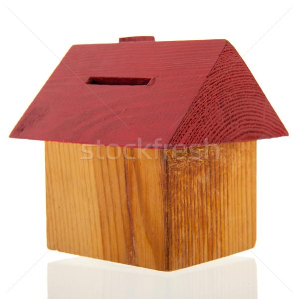 House as piggy bank Stock photo © ivonnewierink