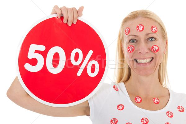 Discount in shop Stock photo © ivonnewierink