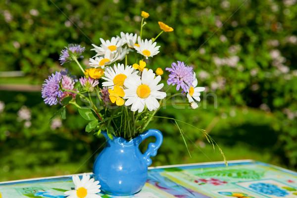 Flower bouquet Stock photo © ivonnewierink