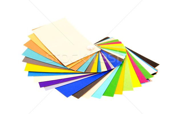 fresh color samples Stock photo © ivonnewierink