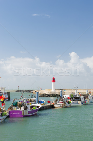 Harbor La Cotinière Oleron France Stock photo © ivonnewierink