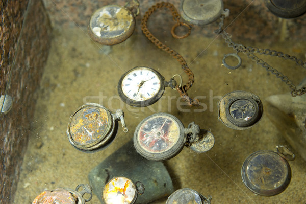 Found watches in Oradour sur Glane Stock photo © ivonnewierink