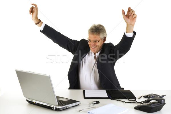 Happy CEO Stock photo © ivonnewierink