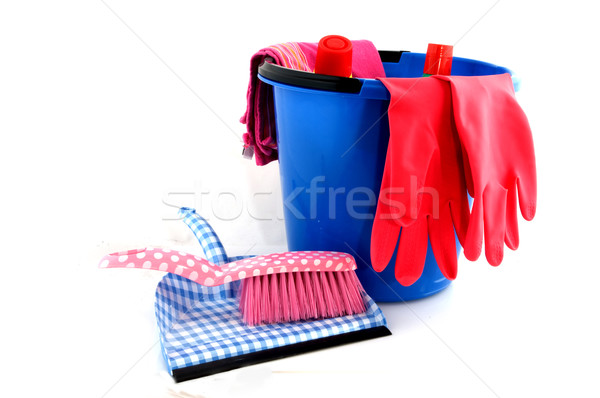 cleaning attributes Stock photo © ivonnewierink