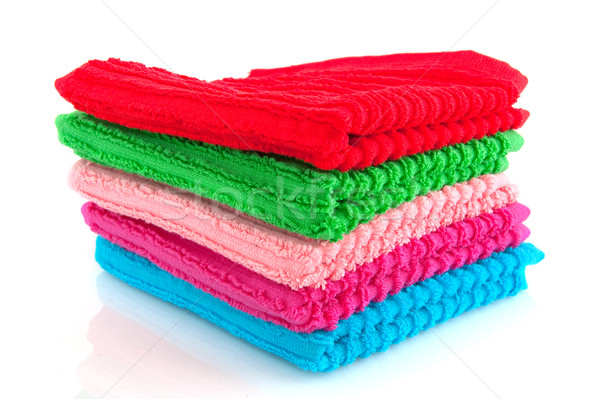 colorful towels Stock photo © ivonnewierink