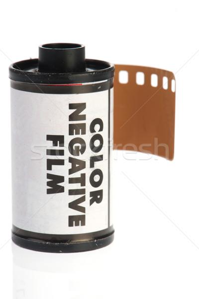 старые негативных фильма фото камеры изолированный Сток-фото © ivonnewierink
