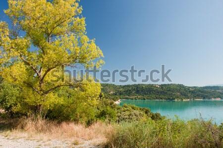 Lake de Sainte Croix Stock photo © ivonnewierink
