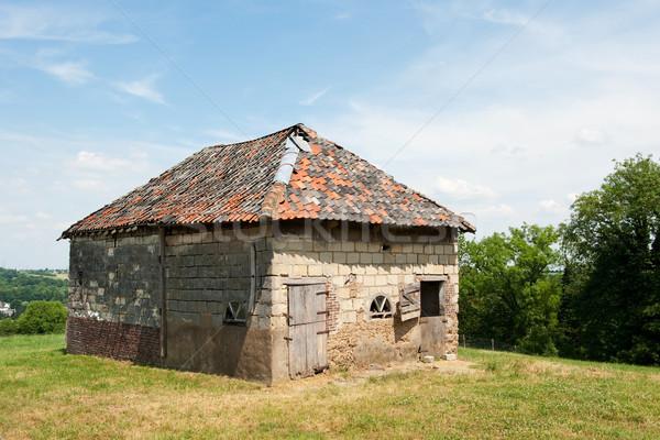 Old Barn Stock photo © ivonnewierink