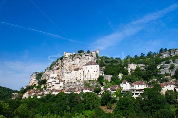 Pilgrimage village rocamadour Stock photo © ivonnewierink