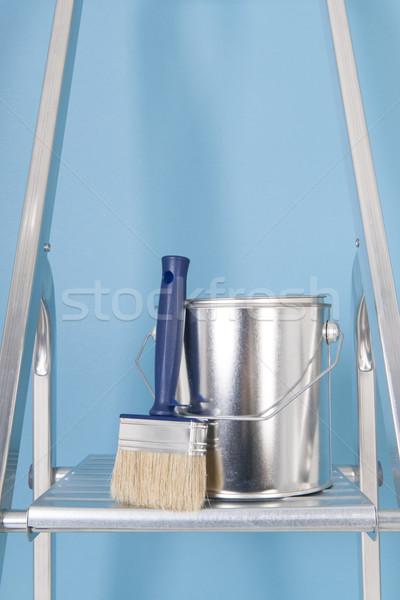 Painting the interior Stock photo © ivonnewierink