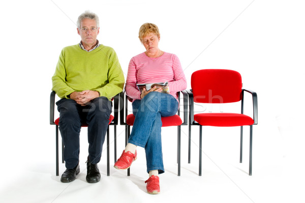 Stock photo: Waitingroom hospital