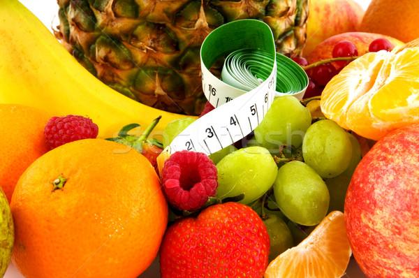 Gezonde vers fruit dieet voedsel vruchten tropische Stockfoto © ivonnewierink