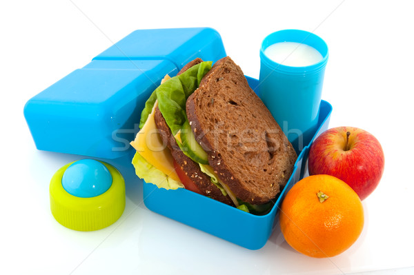 lunch box  Stock photo © ivonnewierink