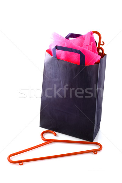 blue bag Stock photo © ivonnewierink