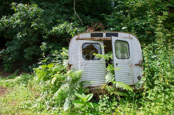 Old French car Stock photo © ivonnewierink