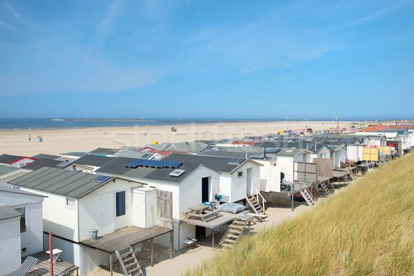 пляж голландский морем лет Сток-фото © ivonnewierink