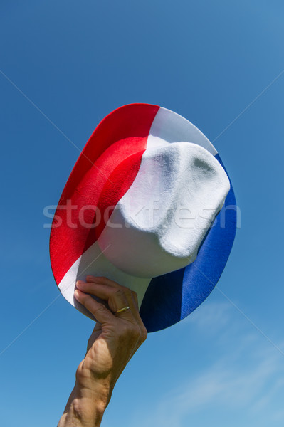 Dutch hat in red white and blue Stock photo © ivonnewierink