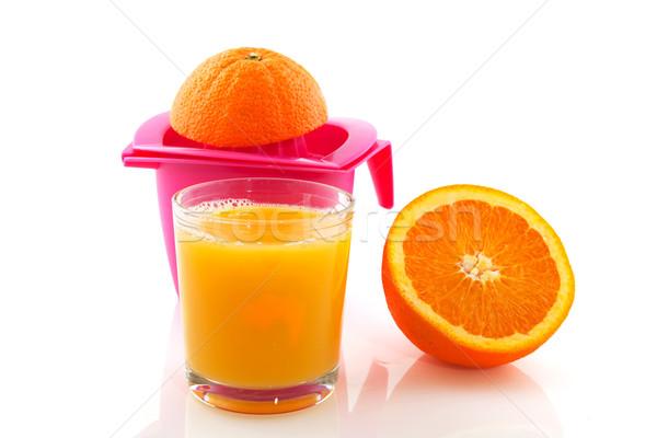 pressed orange  Stock photo © ivonnewierink