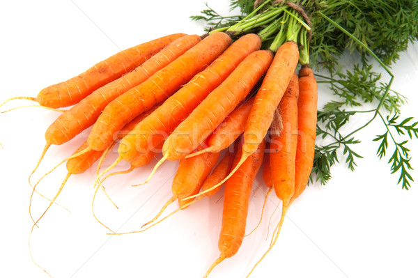 Bunch of carrots Stock photo © ivonnewierink