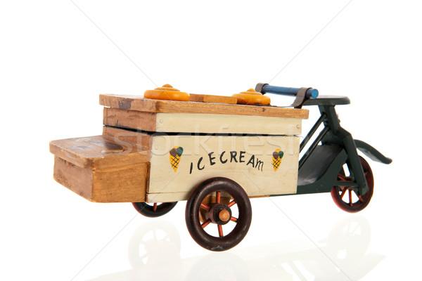 Stary samochód lody starych samochodu transportu Zdjęcia stock © ivonnewierink