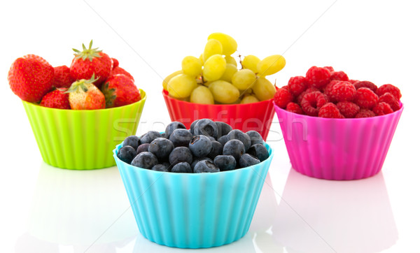 Fresh summer fruit Stock photo © ivonnewierink