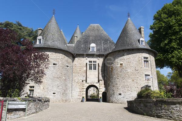Castle Pompadour in France Stock photo © ivonnewierink