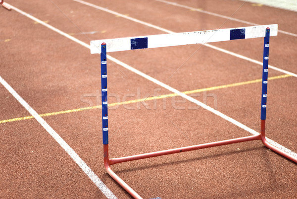 hurdle Stock photo © ivonnewierink