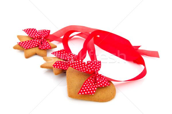 Ginger bread cookies Stock photo © ivonnewierink