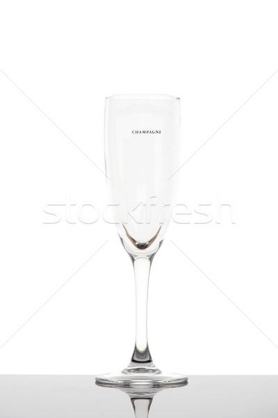 Champagne glass Stock photo © ivonnewierink