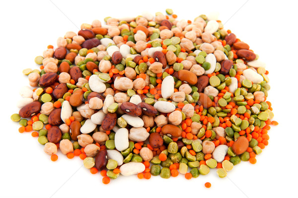 Mixed legumes Stock photo © ivonnewierink