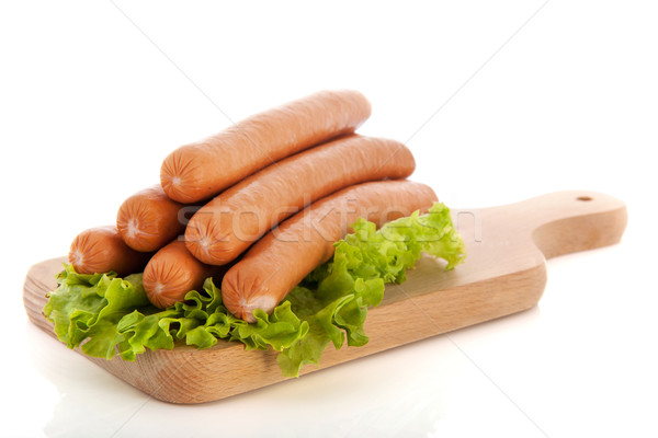 Sausages for hot dogs Stock photo © ivonnewierink