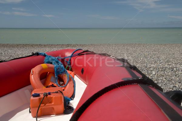 life-guard at the beach Stock photo © ivonnewierink