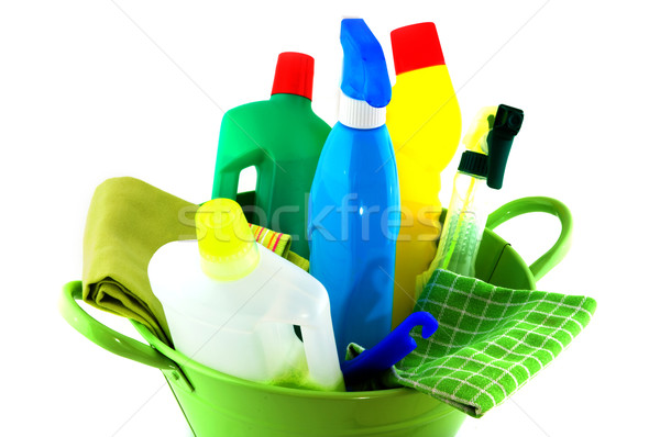 Total tools for cleaning Stock photo © ivonnewierink