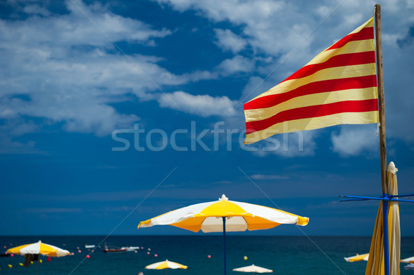 Catalan beach Stock photo © ivonnewierink