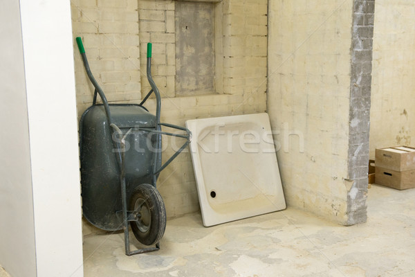 ванную здании новых строительство каменные Сток-фото © ivonnewierink