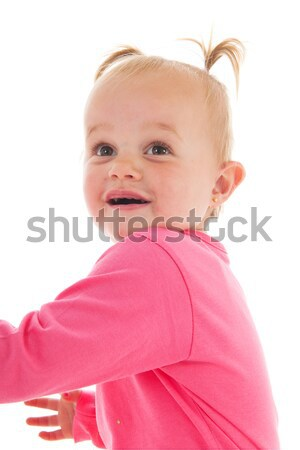 Stock photo: Toddler girl