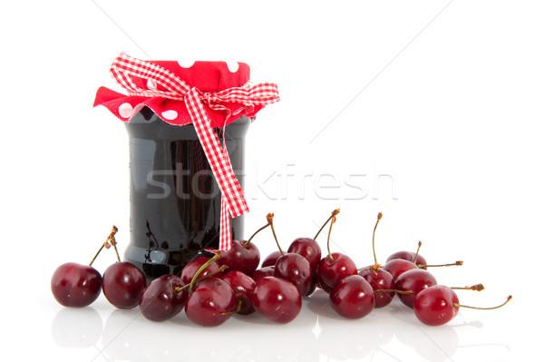 homemade marmelade Stock photo © ivonnewierink
