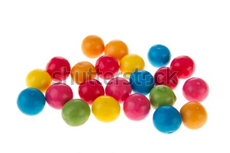 Chewing gum balls Stock photo © ivonnewierink