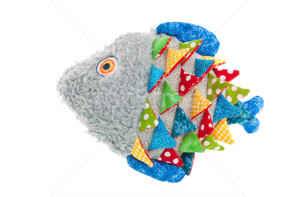 Stuffed funny fish Stock photo © ivonnewierink
