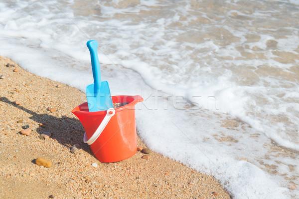 プラスチック おもちゃ ビーチ 砂 水 夏 ストックフォト © ivonnewierink