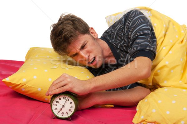 Stock photo: Wake up call