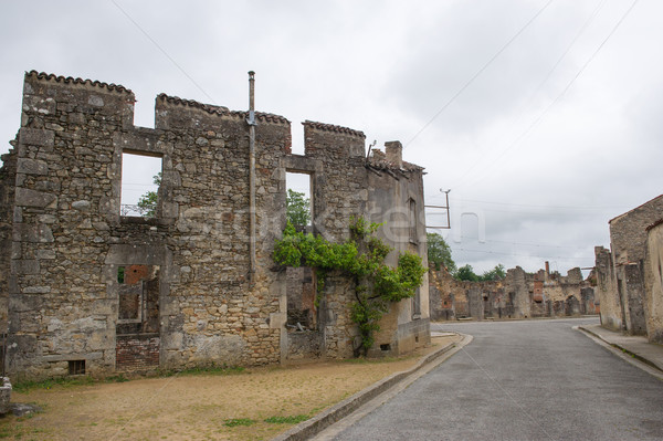 Oradour sur Glane Stock photo © ivonnewierink