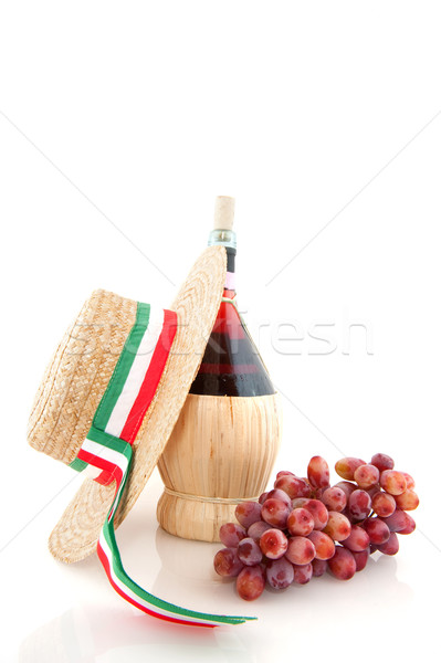 Chianti from Italy Stock photo © ivonnewierink
