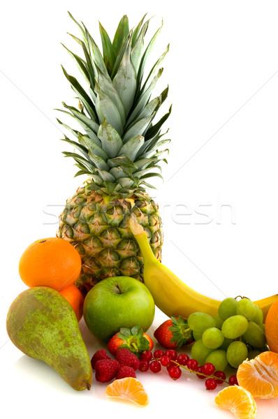 Stil life of fresh fruit Stock photo © ivonnewierink