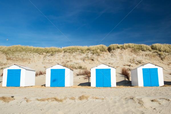 Stok fotoğraf: Mavi · plaj · beyaz · tatil · manzara