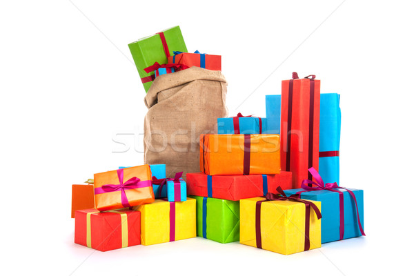 Many presents Stock photo © ivonnewierink