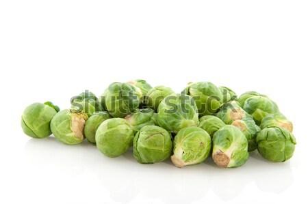 Photo stock: Bruxelles · légumes · studio · blanche · fond · cuisson