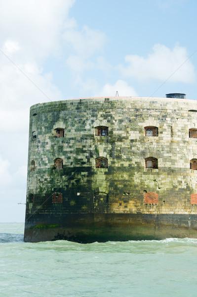 Detail Fort Boyard in France Stock photo © ivonnewierink