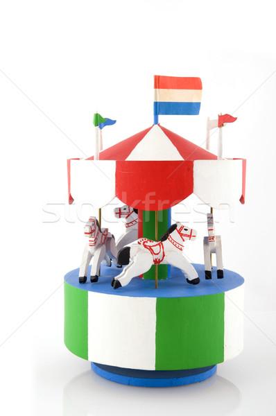 merry-go-round Stock photo © ivonnewierink